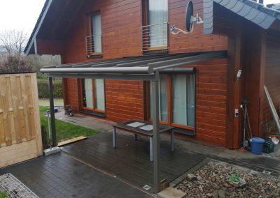 Terrassendach in Fankel (Mosel)